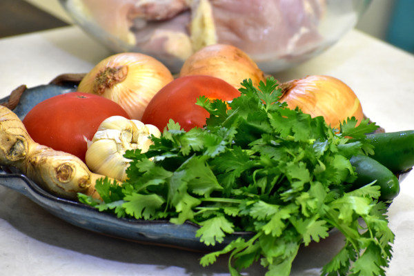 ingredients for chicken masala