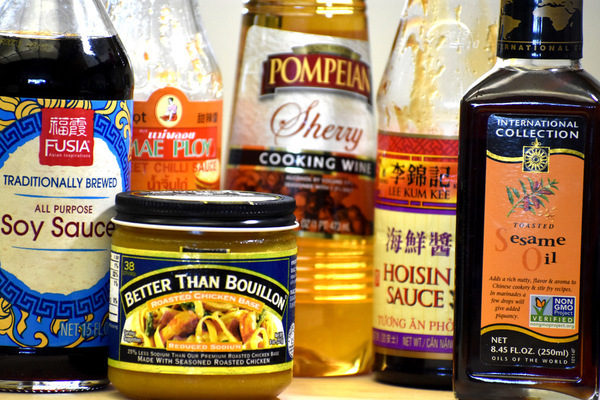 sauces used to create kung pao sauce