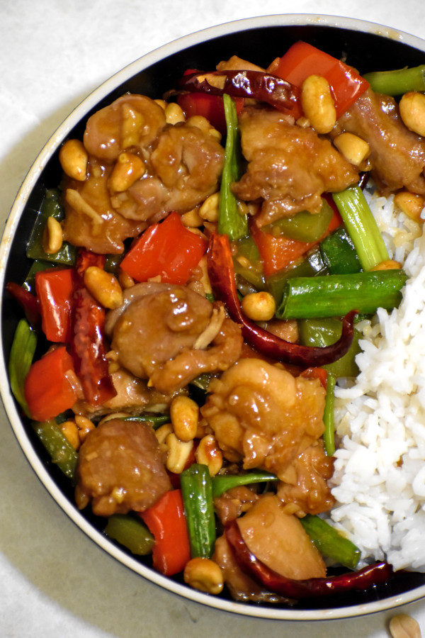The 30 BEST Easy Weeknight Dinners - kung pao chicken.