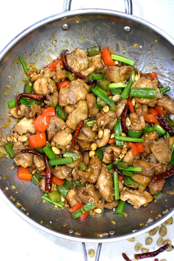 The 5 BEST Asian Recipes - kung pao chicken.