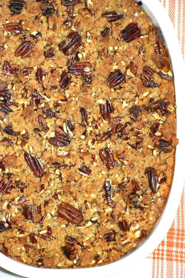 45 BEST Casserole Recipes - sweet potato casserole.