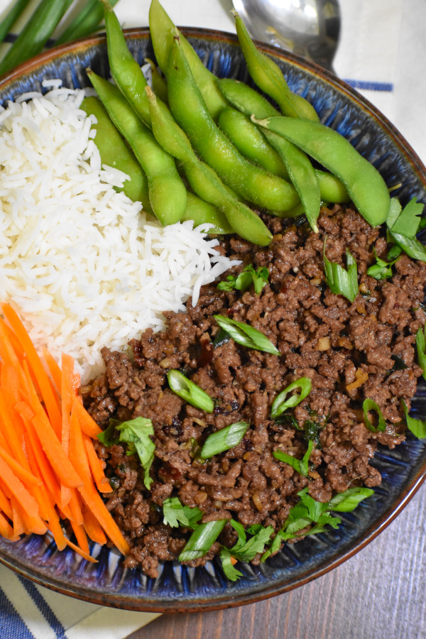 The 5 BEST Asian Recipes -  Korean ground beef bowl.
