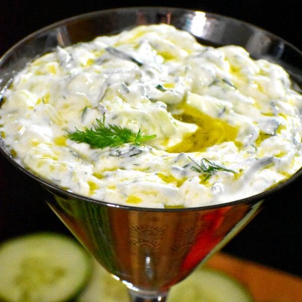 Greek Cucumber Yogurt Sauce – Tzatziki!