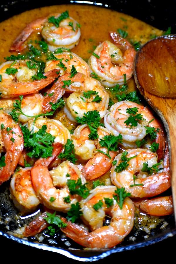 cajun shrimp scampi