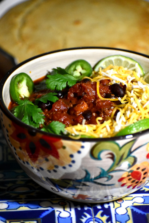 the ultimate chili in the gypsy bowl