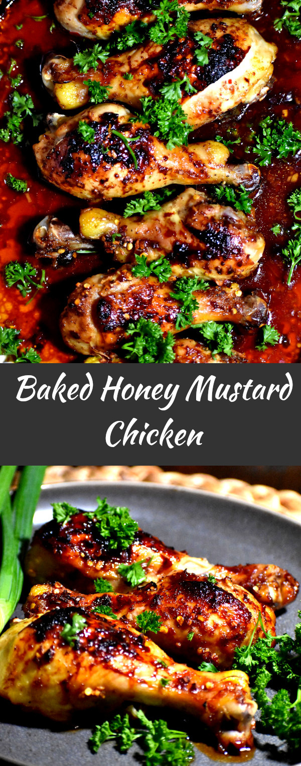 Baked Honey Mustard Chicken Gypsyplate