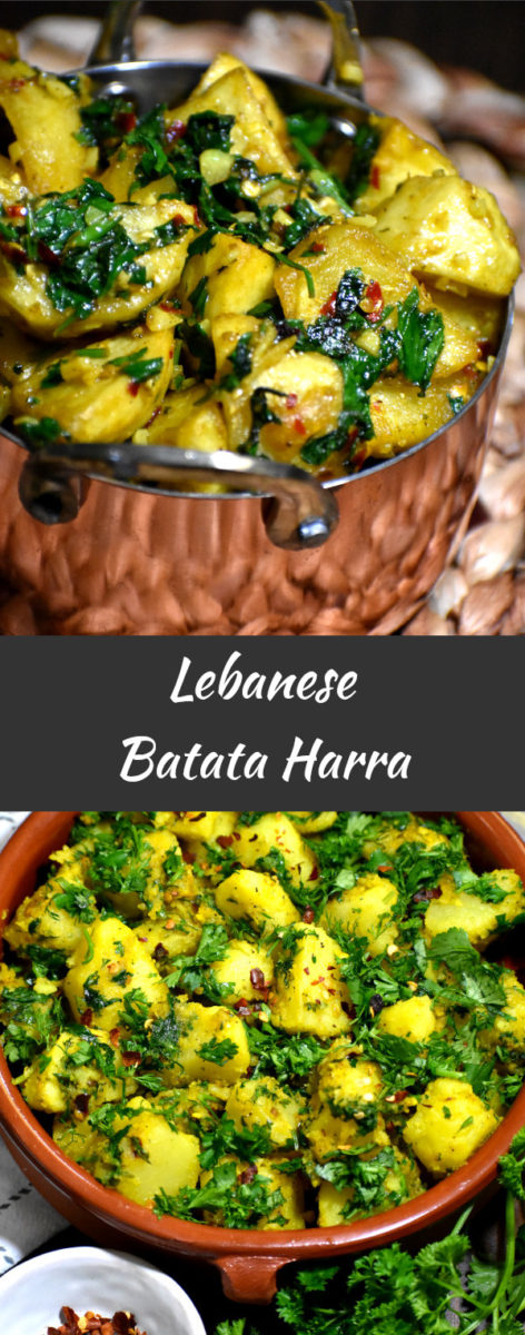 long pin of batata harra