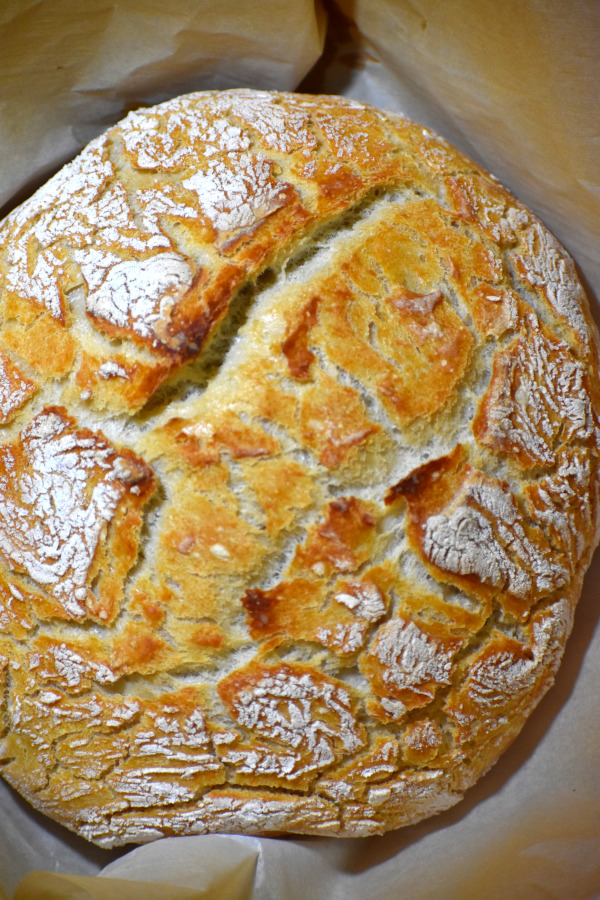 miracle no-knead bread