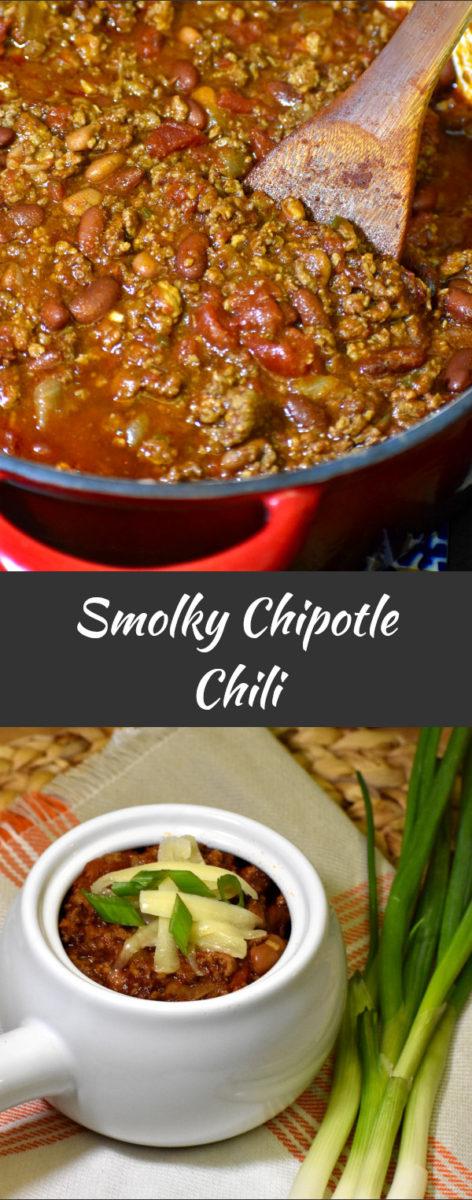 long pin of smoky chipotle chili