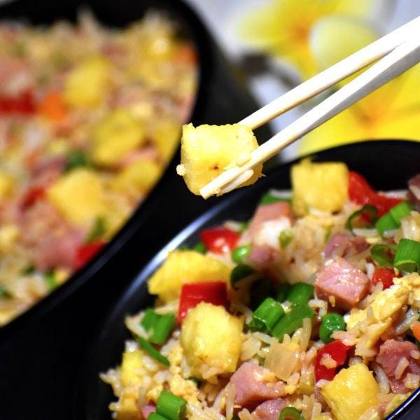 Hawaiian Pineapple Fried Rice