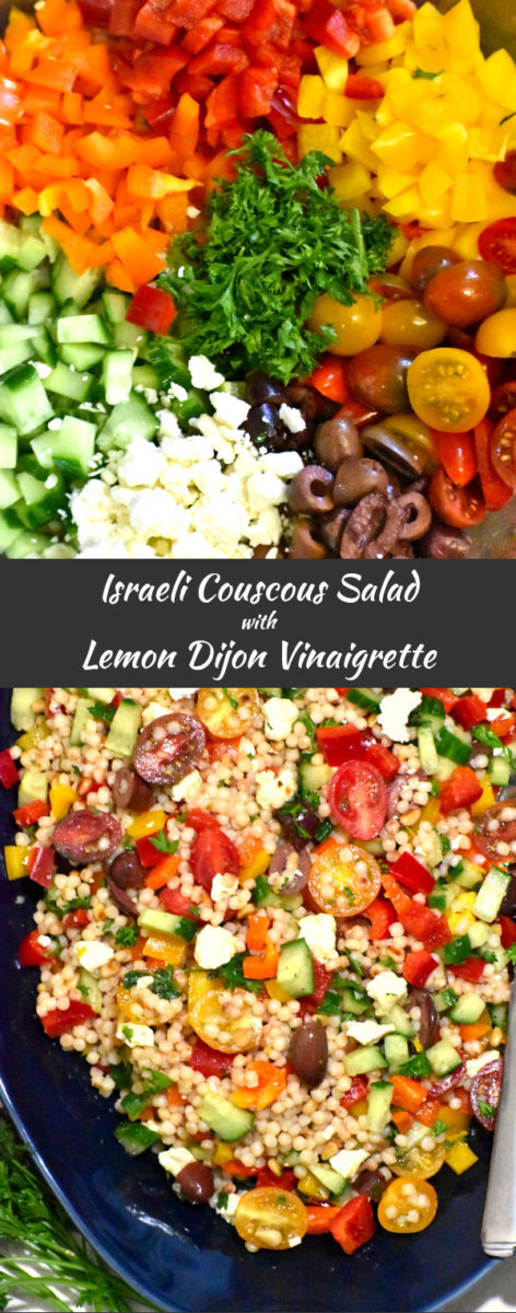 long pin for israeli couscous salad
