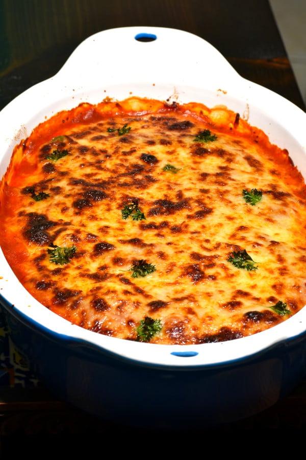 The 30 BEST Easy Weeknight Dinners - Italian sausage bake.