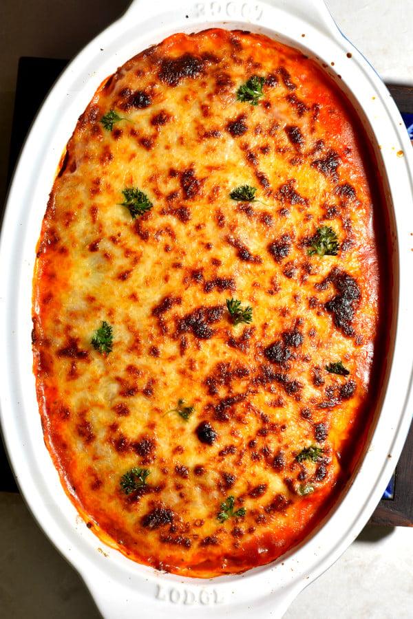 The 40 BEST Easy Dinner Recipes - Italian sausage bake.