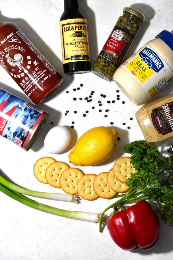 salmon patty ingredients