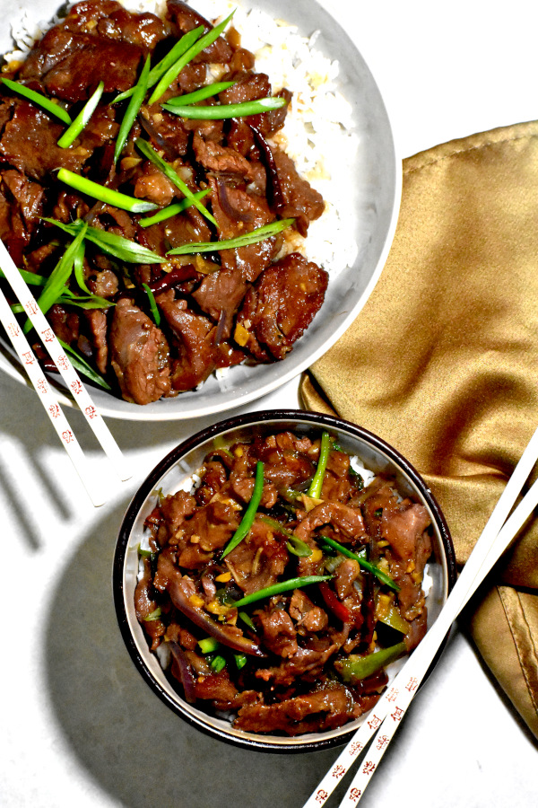 The 5 BEST Asian Recipes - Mongolian beef.