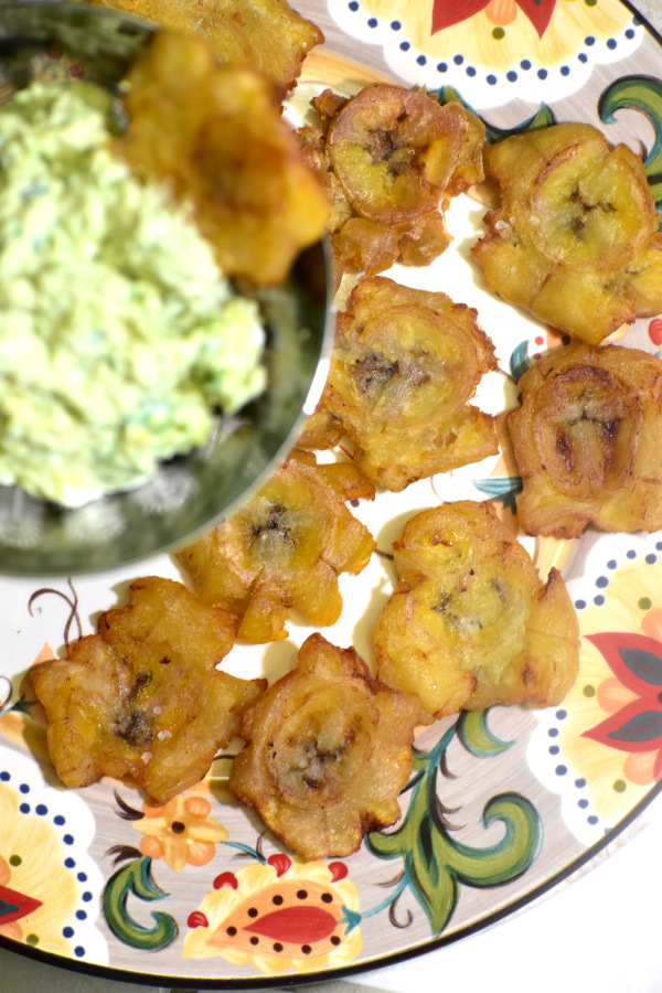 tostones on the gypsy plate