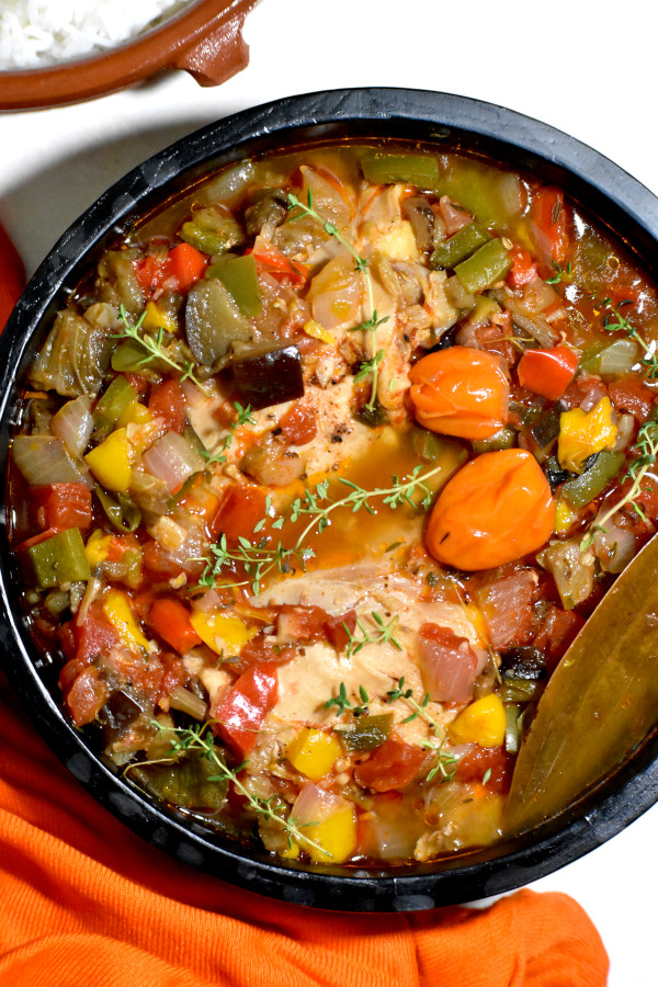 a nice big bowl of this spicy african stew!