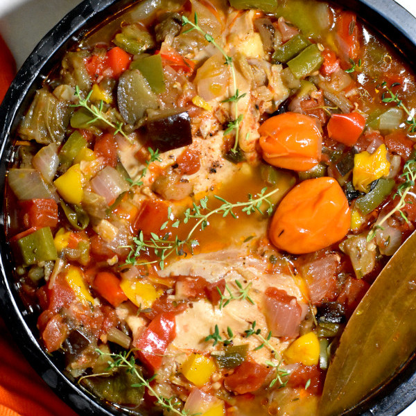 Kedjenou Chicken (Ivory Coast Stew)