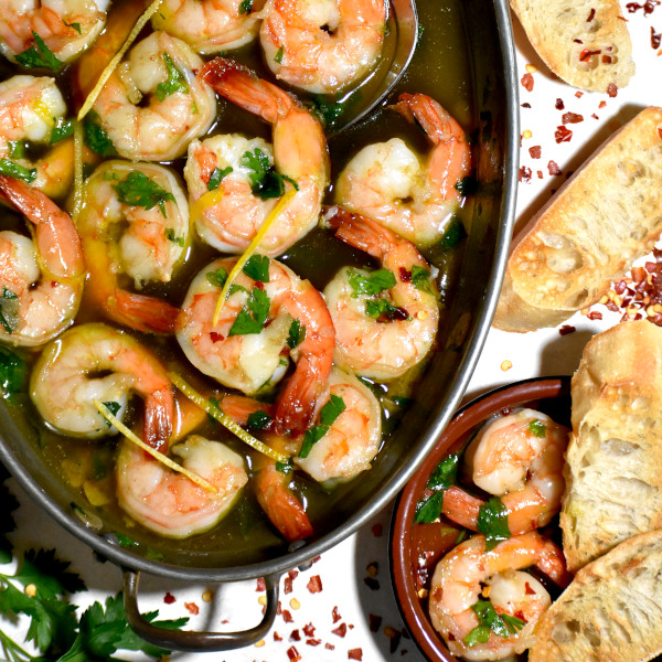 Gambas al Ajillo (Spanish Garlic Shrimp)