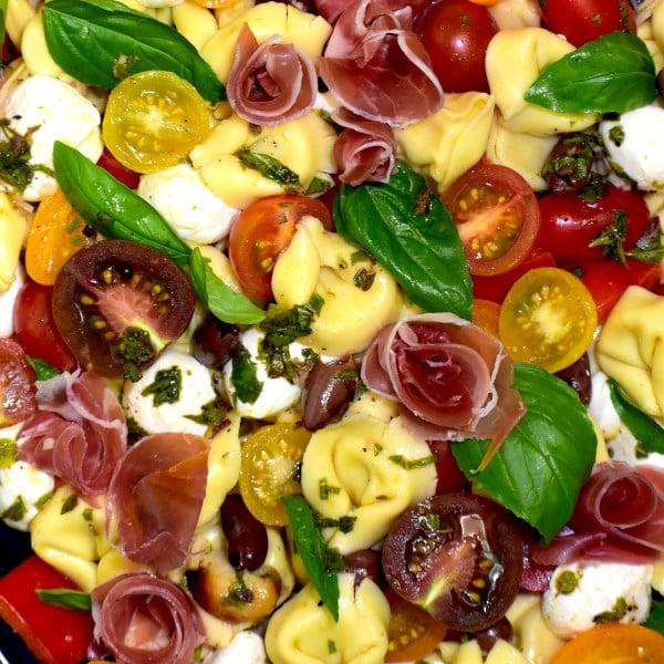 Tortellini Pasta Salad with Prosciutto