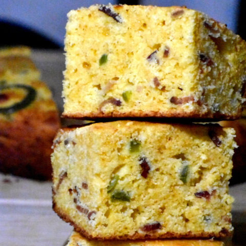 Featured image for Bacon Cheddar Jalapeno Cornbread post.