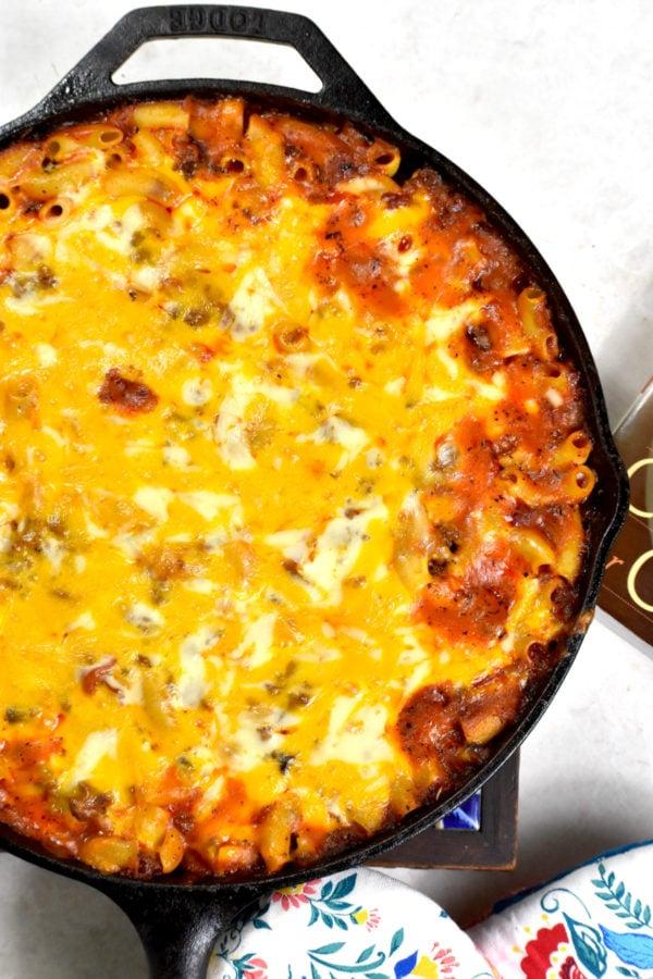 The 40 BEST Easy Dinner Recipes - Johnny Marzetti.