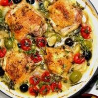 Chicken provencal.