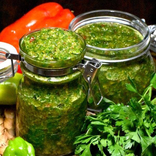 Trinidadian Green Seasoning