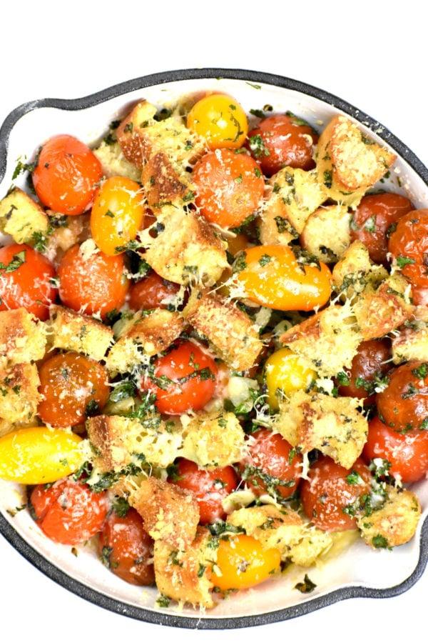 The 40 plus best Mediterranean recipes - Cherry tomato gratin.