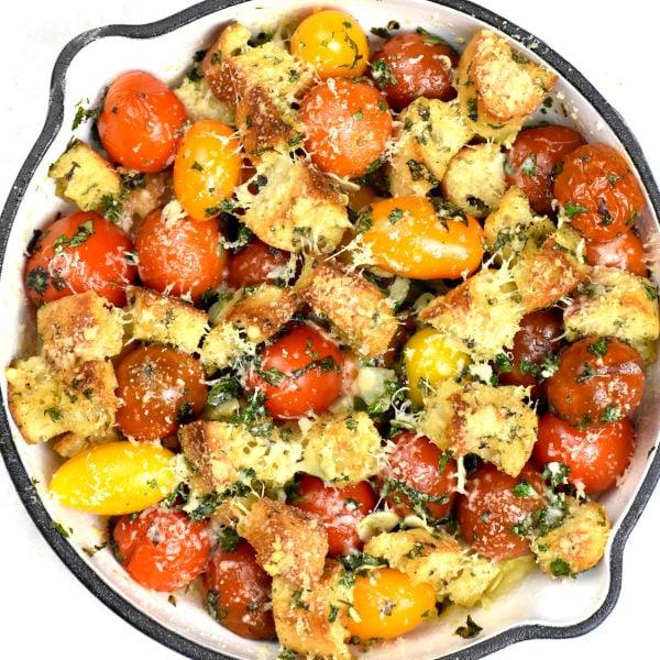 Cherry Tomato Gratin