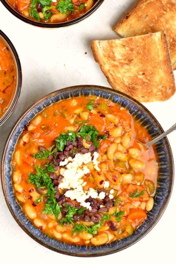 The 40 plus best Mediterranean recipes - Fasolada.