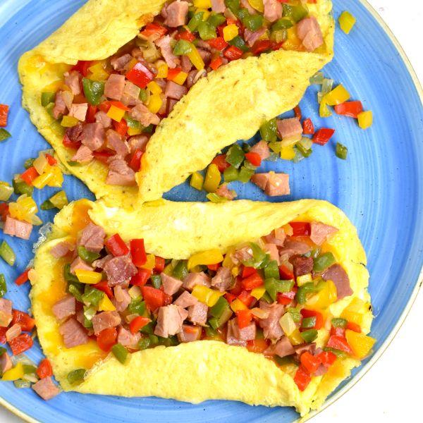 Denver Omelette (AKA Western Omelette)