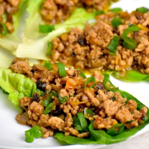 Featured image for Keto Frieldy PF Chang Lettuce Wraps post.