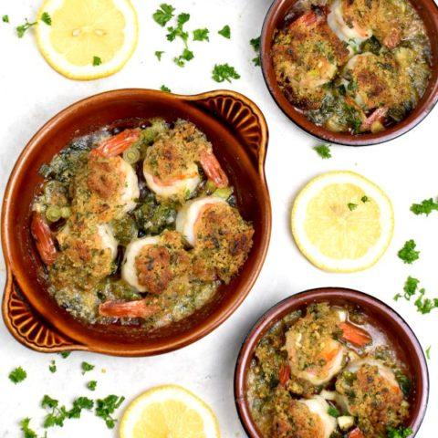 Featured image for Shrimp de Jonghe post.