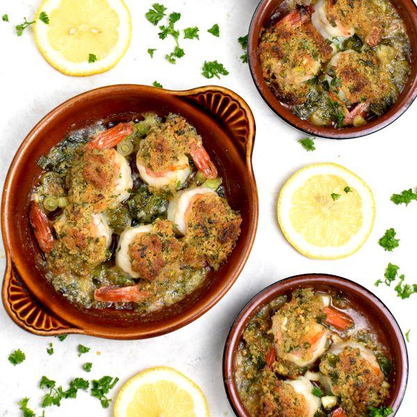 Shrimp de Jonghe (Butter Garlic Shrimp Casserole)