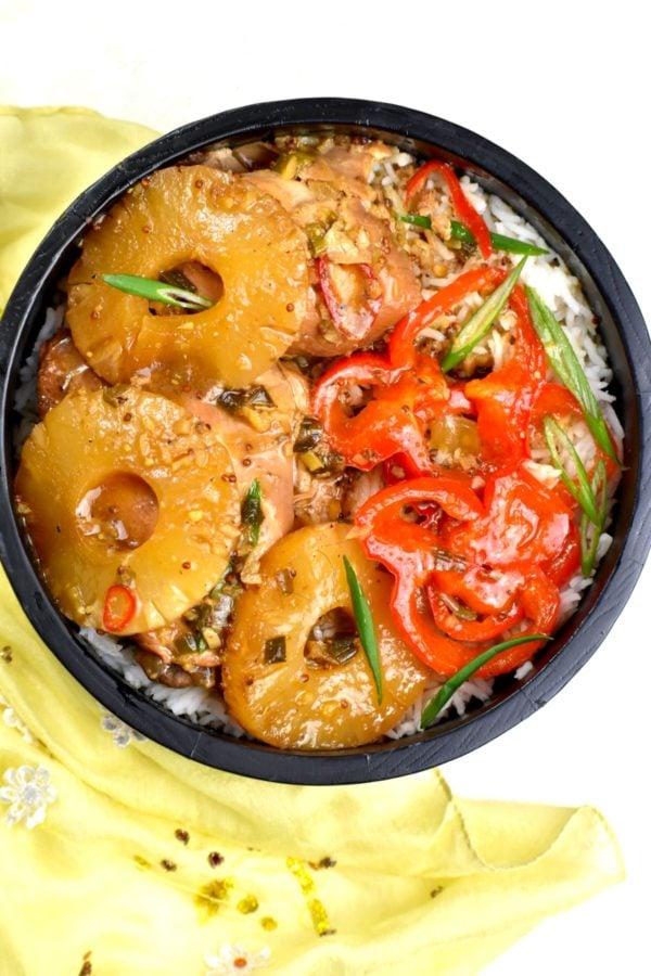 The 40 BEST Easy Dinner Recipes - Hawaiian pineapple chicken.