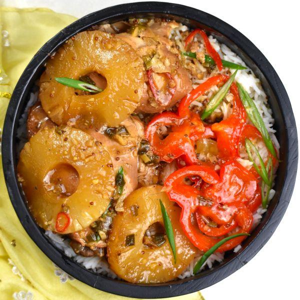 Crock Pot (or Instant Pot) Hawaiian Pineapple Chicken