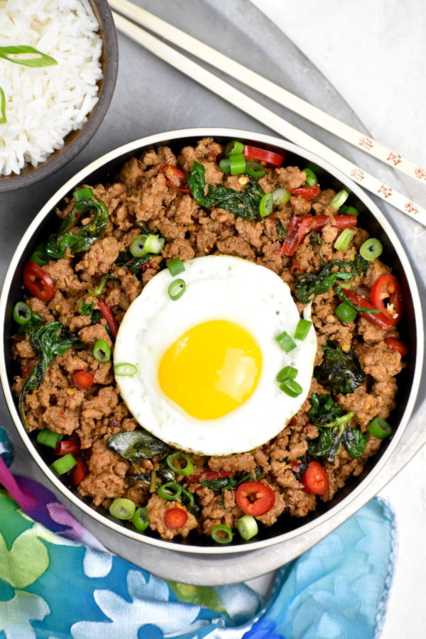 The 30 BEST Easy Weeknight Dinners - Thai basil chicken.