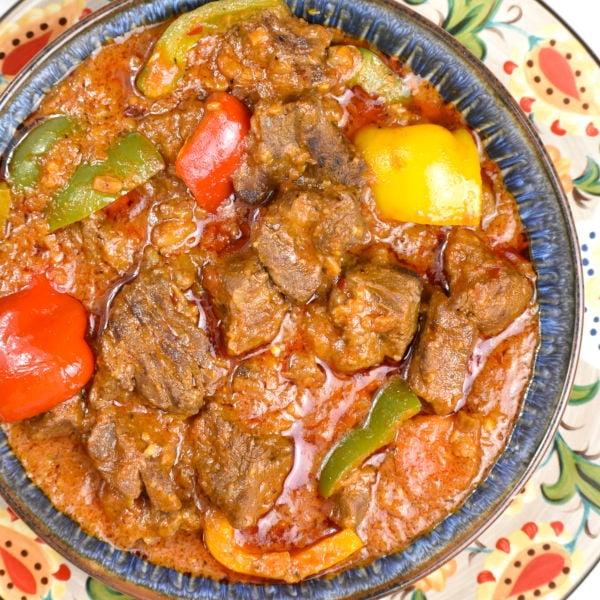 Maafe (Senegalese Peanut Stew)