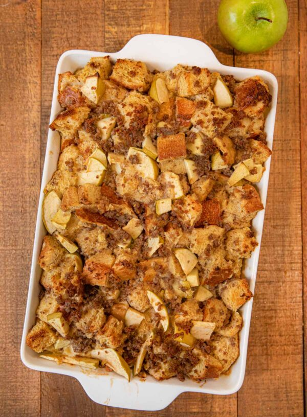 The 35+ BEST Sausage Recipes - French toast bake.