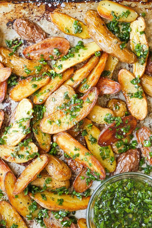 The 45 BEST Potato Recipes - potato wedges.
