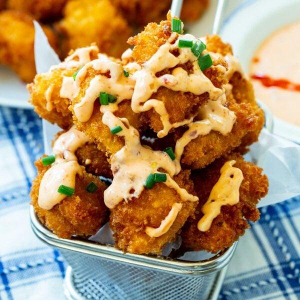 40 BEST Potluck Recipe Ideas - bang bang chicken.
