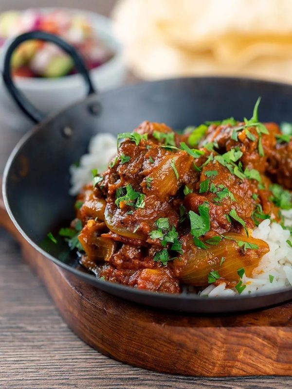 The 40 BEST Curry Recipes - Beef Bhuna.