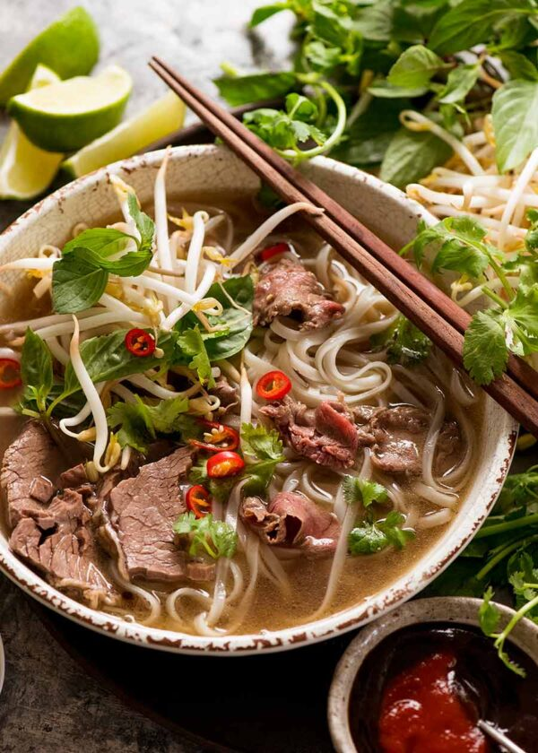 The 5 BEST Asian Recipes - pho.