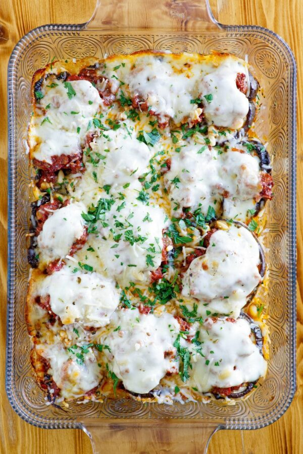 35 BEST Eggplant Recipes - beef and eggplant casserole.