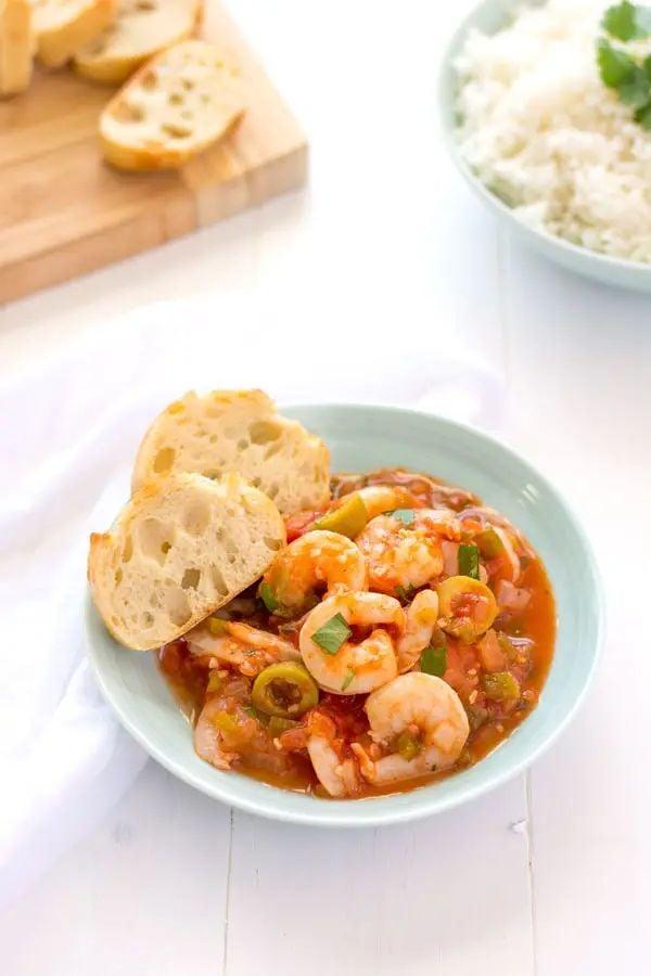 40 BEST Caribbean Recipes - camarones guisados.