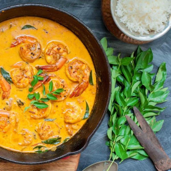 The 40 BEST Curry Recipes - Kerala Prawn Curry.