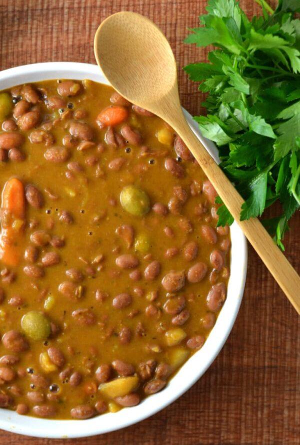 40 BEST Caribbean Recipes - Puerto Rican beans.