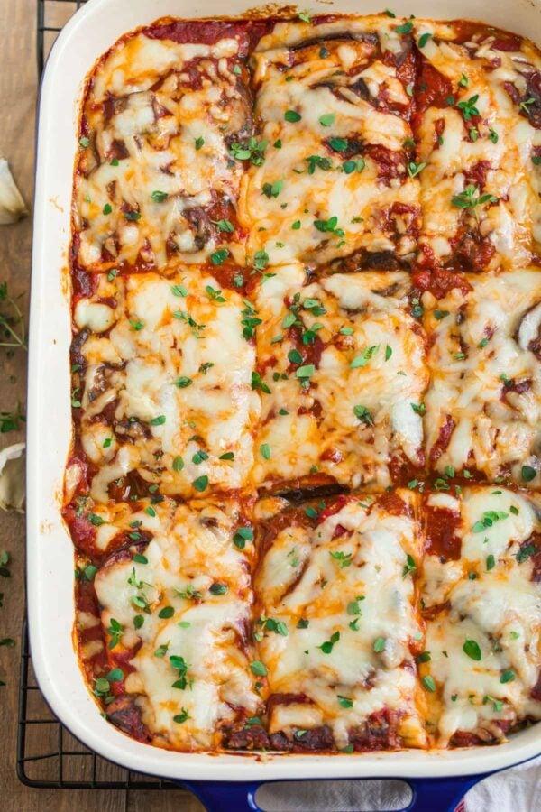 35 BEST Eggplant Recipes - eggplant lasagne.