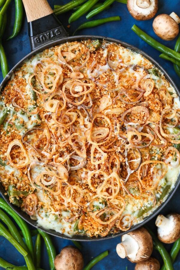 45 BEST Casserole Recipes - green bean casserole.